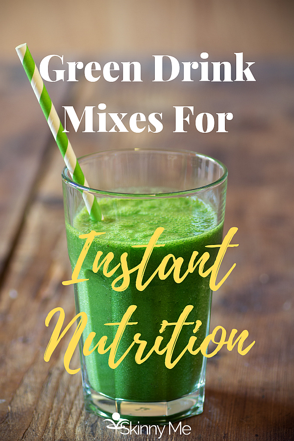 Green Drink Mixes For Instant Nutrition
