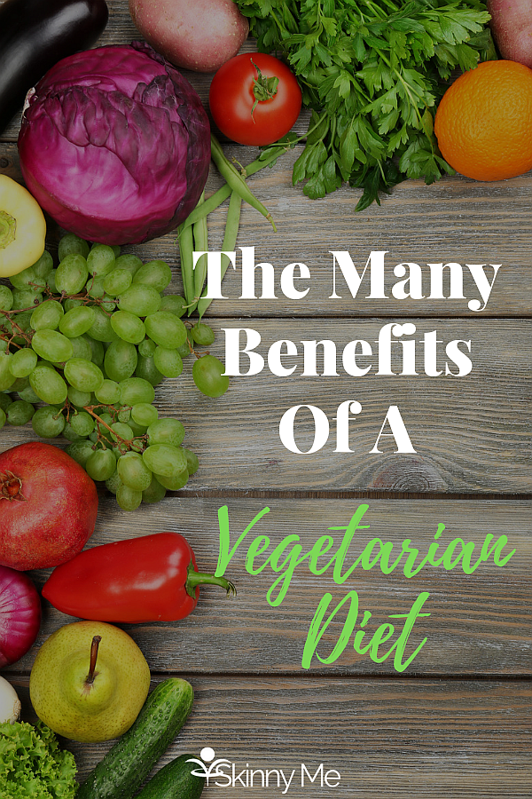 The Many Benefits Of A Vegetarian Diet